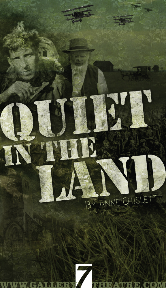 Quiet in the Land poster