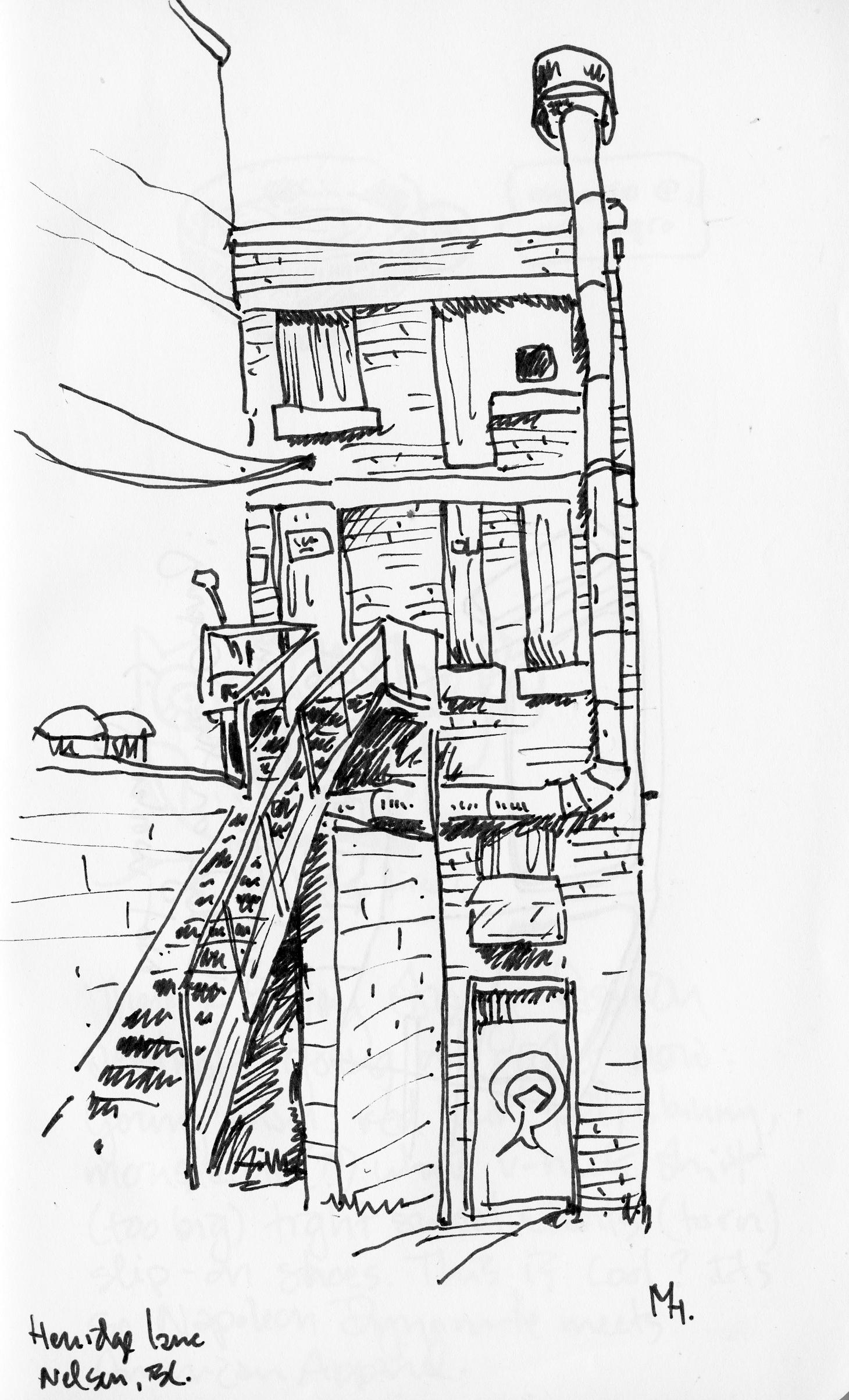 New Sketches, Old Buildings | Michael Hepher