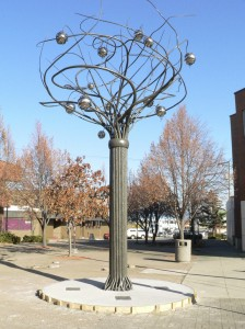 Finished Spirit Tree Sculpture – Cranbrook, BC.